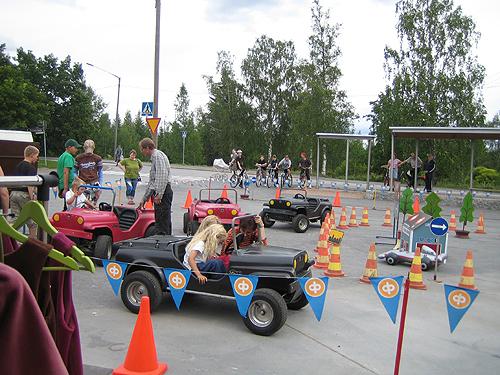 Lasten liikennekaupunkitapahtuma 2008  kuvia